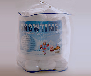 Snow Balls game pack for indoor play