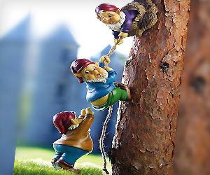 Climbing Gnomes Tree Decor