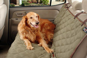 Car back seat cover for pet dog