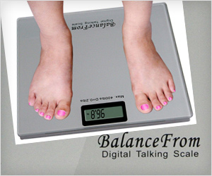 Digital Talking weight scale that speaks weight number