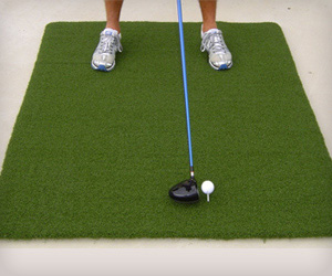 Big Golf Mat for wooden tee