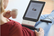 Use iPad in lap on sofa or bed with irest stand