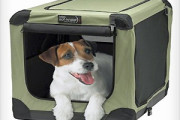 Mesh Pet Crate Box for easy dog travel