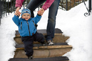 Heated Stairs mats for automatic snow melting