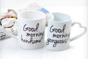 Good Morning Gorgeous / Handsome mugs