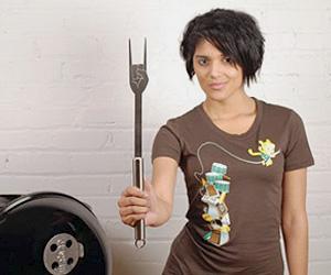 Cool Rocking BBQ Fork for men
